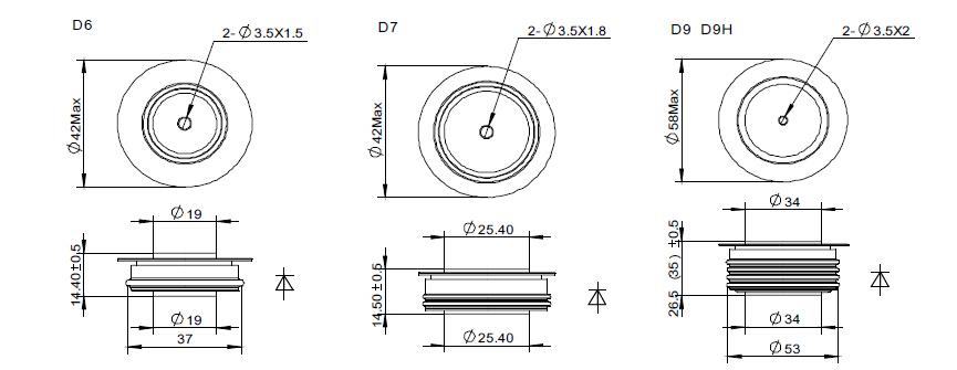 ctifier diode power diode list