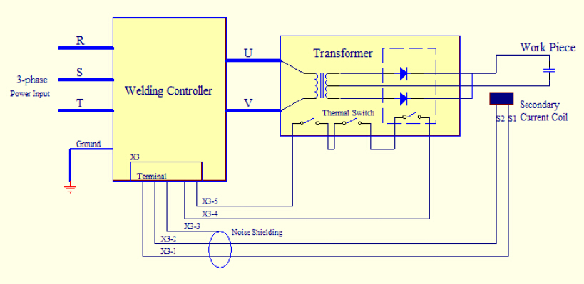 welding diode schematic